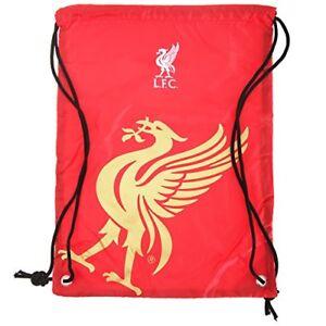 Liverpool F.C.Gym Bag Sports PE School Rucksack Gift