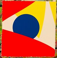 MR CLEVER ART COLOR THEORY #04 abstract contemporary minimalism op art geometric