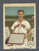 1959 Fleer Ted Williams EX++ # 21 1943- Honors For Williams Set Break Red Sox
