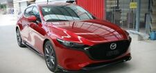 for mazda 3 4gen 2019 body kit front lip side skirts rear diff UNpainted to MX