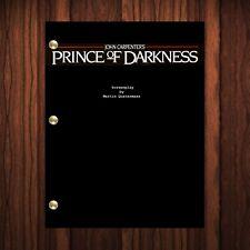 Prince of Darkness Movie Script Reprint Full Screenplay Full Script