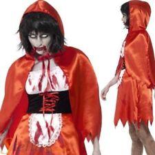 Déguisements costumes rouge pour femme zombie