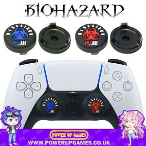 Resident Evil Village Thumb Grips for PS5 Dual Sense/PS4 Controller - Biohazard