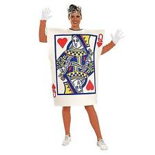 Queen of Hearts Card Alice Wonderland Adult Womens Costume Dress One-size Stan