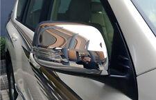 Chrome Side Door Mirror Cover Trim For Toyota Land Cruiser Prado FJ150 2010-2018