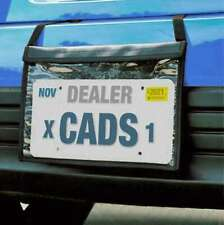 Premium Demo Tag Bag License Plate Holder (Black) (1 Per Pack)
