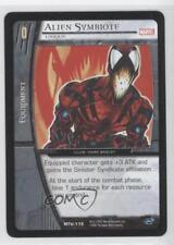 2007 VS System Marvel Team-Up Booster Pack Base #MTU-115 Alien Symbiote Card 3v2
