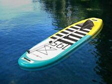 "Pro6 P6-195 ISUP Inflatable Stand-Up Paddle Board 118""x30""x4"", 9'10"" Aqua Marina"