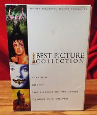 MGM Best Picture Collection (DVD, 4-Disc Set) Platoon, Rocky, Dance with Wolves