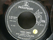 CLIFF BENNETT & HIS BAND Good times ( VANDA YOUNG AC DC )  PARLOPHONE R5711 uk