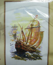 2 TALL SHIPS ~ COUNTED CROSS Stitch KIT (New - Riolis Design)