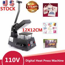 Heat Press Machine Digital Sublimation T Shirt Mug Hat Transfer Printer