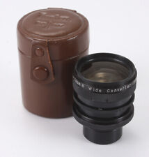 KONICA AUXILIARY WIDE ANGLE LENS FOR ZOOM 8, PARTIAL HAZE, SOME DUST/187359