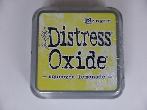 *NEW* (Ranger) TIM HOLTZ Distress OXIDE *Squeezed Lemonade* (Full Sized Ink Pad)