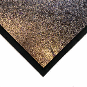Dark Rose Gold Leather Sheet 6x6in/15x15cm  // Genuine Leather Pieces 2.25 oz /