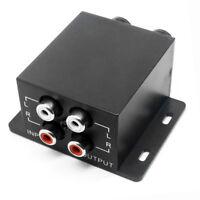 Car Amplifier Audio Regulator Bass Equalizer Crossover Controller RCA Adjust