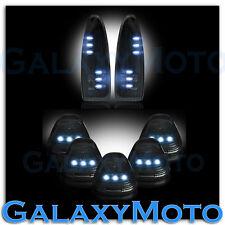 03-07 Ford Super Duty SMOKE Lens WHITE LED Mirror Turn Signal+5pcs Cab LED Light