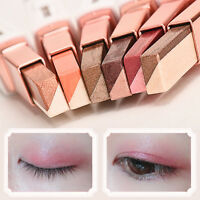 Dual Color Eye Shadow Shimmer Makeup Pencil Eyeshadow Pen Stick Natural New.