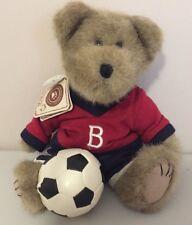 "Boyds Bear Stryker Scoresalot soccer bear plush 10"" w/Tag"
