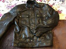 Belstaff Turner Pure Motorcycle Jacket - Black, Medium