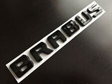 GLOSS BLACK BRABUS REAR BOOT BADGE LETTERING