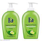 (9,98 €/L ) 2X 250ML FA savon liquide Hygiène & Frais Limette distributeur