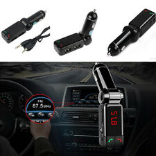 Bluetooth Car MP3 Player FM Transmitter Dual USB Charger Phone HandsFree For BMW