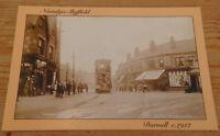 Nostalgic Sheffield postcard Darnall Terminus c1912 Card by Hedgerow publishing