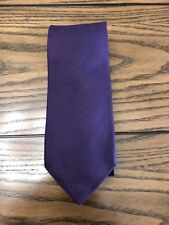 Hugo Boss Dark Purple Mens Tie