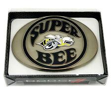 Fibbia Cintura DODGE Super Ape Muscle Car SPEC CAST Licenza ufficiale da collezione