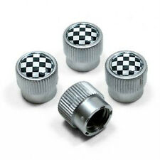NEW OEM MINI Cooper Checkered Valve Stem Covers 36110429945