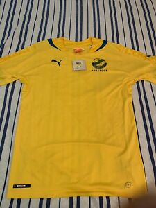 PUMA GABON D'ABORD PANTHERS AUTHENTIC SOCCER JERSEY MENS NWT SIZE M