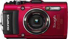 Olympus Tough TG-4 16.0 MP Digital Camera 3.0 LCD - Red