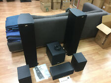 Polk & JBL Home Theater Speaker 6 Piece Set in Excellent Condition - Rarely Used