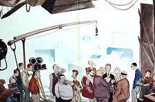 David Low RAKE as MOVIE PRODUCER Investor Set Camera 1934 Art Deco Print Matted