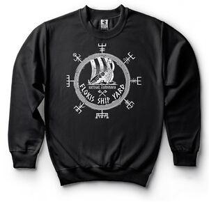 Flokis Shipyard Sweatshirt Ragnar Lothbrok Hooded Sweater Floki Hoodie Viking