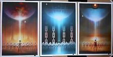 Andy Fairhurst Star Wars Perspective #3 LICENSED Giclee 3-Print SET Poster #d