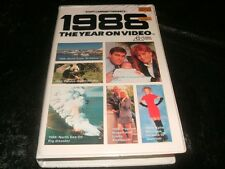 1988 THE YEAR ON VIDEO MINT SEALED RARE VIDEO VHS PAL