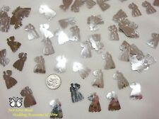 Wedding Table Scatters Confetti Bride & Groom - Silver BUY 1 GET 1 FREE