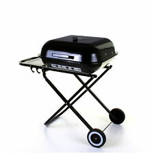 Folding jackson Barbecue Trolley BBQ Grill for Camping Party