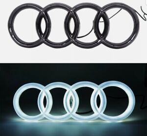 Audi Black Sport Car Led Front Grille Logo Emblem Lights For  A1 A3 A4 A5 A6 S3