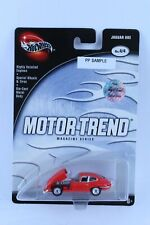 HOT WHEELS MOTOR TREND JAGUAR XKE PP SAMPLE FROM LARRY WOOD COLLECTION