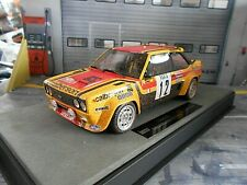 FIAT 131 Abarth Rallye Monte Carlo 1980 #12 Mouton Calberson Top Marques D 1:18
