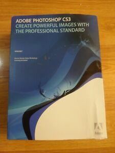 Adobe Photoshop CS3 Windows original Box