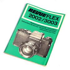 Revueflex 2002/3003 Bedienungsanleitung * manual