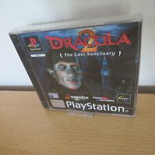 Dracula 2 el último santuario-PAL PlayStation 1 PS1-Nuevo Sellado PAL Versión