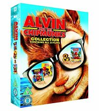 ALVIN AND THE CHIPMUNKS 3 FILMS BLU-RAY SQUEAKQUEL CHIPWRECKED KIDS FILM