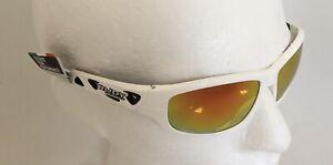 Rudy Project AIRGRIP White Gloss Sunglasses Laser Orange Mirror Lens Ref:CF06