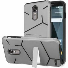 Hybrid PC-TPU Stand Case Cover For LG Stylo 3 Stylo 3 Plus (2017) Phone