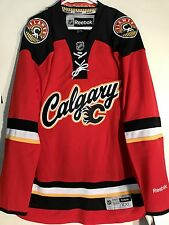 Reebok Men Calgary Flames Jersey NHL Fan Apparel   Souvenirs  ff6c17e28